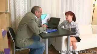 Tricky Old Teacher – Stefany finds out that one way